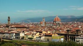 Panorama de Florence banque de vidéos
