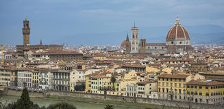 Panorama de Florence photo stock