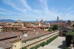panorama de Florence images libres de droits