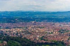 Panorama de Florence Italy Fotografía de archivo libre de regalías