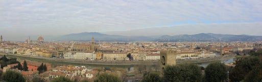Panorama de Florencia Fotografía de archivo libre de regalías