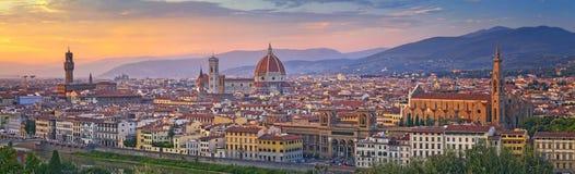 Panorama de Florencia Foto de archivo libre de regalías