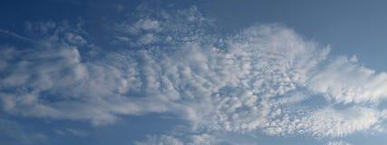 Panorama de fond de nuage photos libres de droits