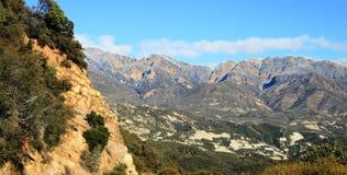 Panorama de forêt de visibilité directe Padres Photo stock