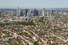 Panorama de Francfort Image libre de droits