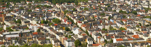 Panorama de Francfort Photographie stock libre de droits