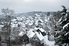 Panorama de Freudenberg Fotos de Stock