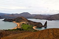 Panorama de Galapagos Images stock