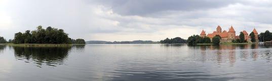 Panorama de Galve de lac Photos stock