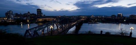 Panorama de Gatineau Imagenes de archivo