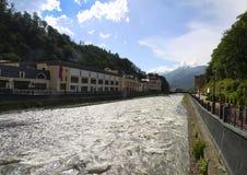 Panorama de Gidroaviasalon 2014 Image libre de droits