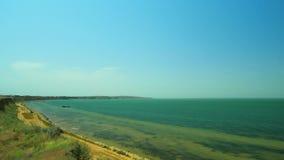 Panorama de Golfe de Taman banque de vidéos