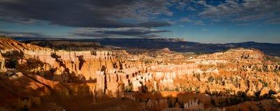 Panorama de gorge de Bryce Photo libre de droits