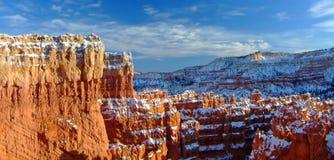 Panorama de gorge de Bryce Photos stock
