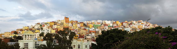 Panorama de Gran Canaria foto de archivo libre de regalías