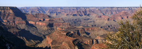 Panorama de Grand Canyon Foto de Stock