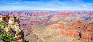 Panorama de Grand Canyon au point de mère Images stock