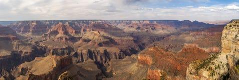 Panorama de Grand Canyon o Arizona imagem de stock