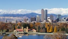 Panorama de haut de ville de mille Images stock