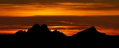 Panorama de haut Tatras Images libres de droits