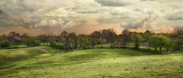 Panorama de HDR Foto de Stock Royalty Free
