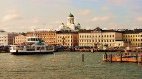 Panorama de Helsinki Imagenes de archivo