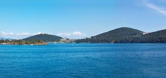 Panorama de Heybeliada photo stock