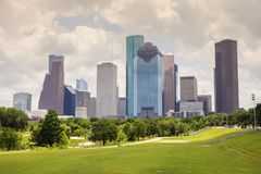 Panorama de Houston images stock