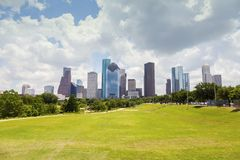 Panorama de Houston photo stock