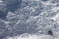 Panorama de Icefall Fotografía de archivo