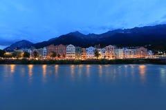 Panorama de Innsbruck Foto de Stock