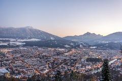 Panorama de Innsbruck Imagen de archivo libre de regalías