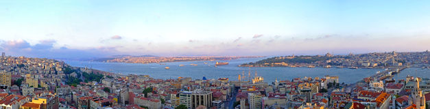 Panorama de Istambul Imagem de Stock