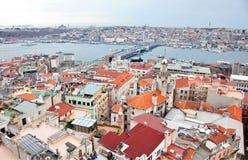 Panorama de Istambul Fotos de Stock