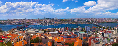Panorama de Istambul Turquia fotografia de stock royalty free
