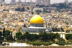 Panorama de Jerusalén 6 Imagen de archivo libre de regalías