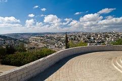 Panorama de Jerusalén fotografía de archivo libre de regalías