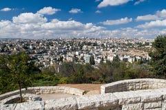 Panorama de Jerusalem Fotografia de Stock