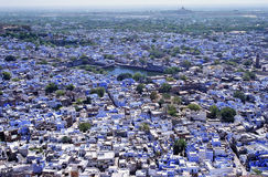 Panorama de Jodhpur Photo stock
