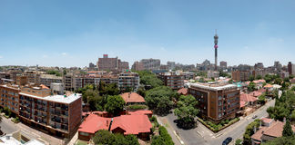 Panorama de Johannesburg - Gauteng, Afrique du Sud Photos stock