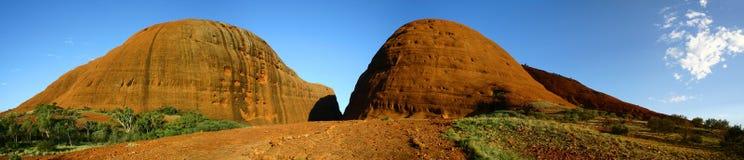 Panorama de Kata Tjuta Foto de Stock