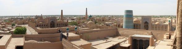 Panorama de Khiva Imagem de Stock Royalty Free