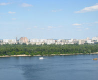 Panorama de Kiev Imagens de Stock