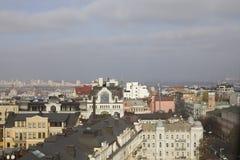 Panorama de Kiev Foto de archivo libre de regalías