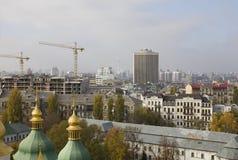 Panorama de Kiev Imagenes de archivo