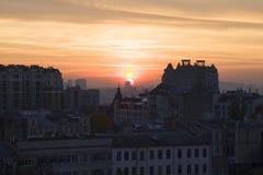 Panorama de Kiev Fotografía de archivo libre de regalías