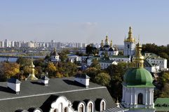 Panorama de Kiev Pechersk Lavra, Fotos de Stock