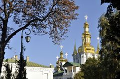 Panorama de Kiev Pechersk Lavra, Fotos de Stock Royalty Free
