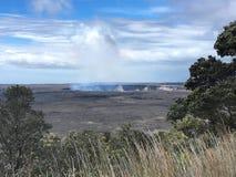 Panorama de Kilauea Fotografia de Stock Royalty Free