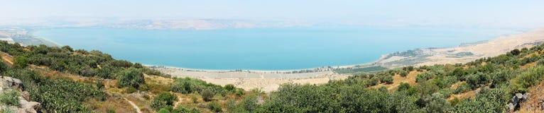 Panorama de Kinneret inteiramente foto de stock royalty free